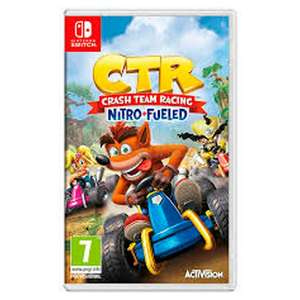 Crash Team Racing Nitro Fueled (Nintendo Switch) £24.49 @ Sainsbury's