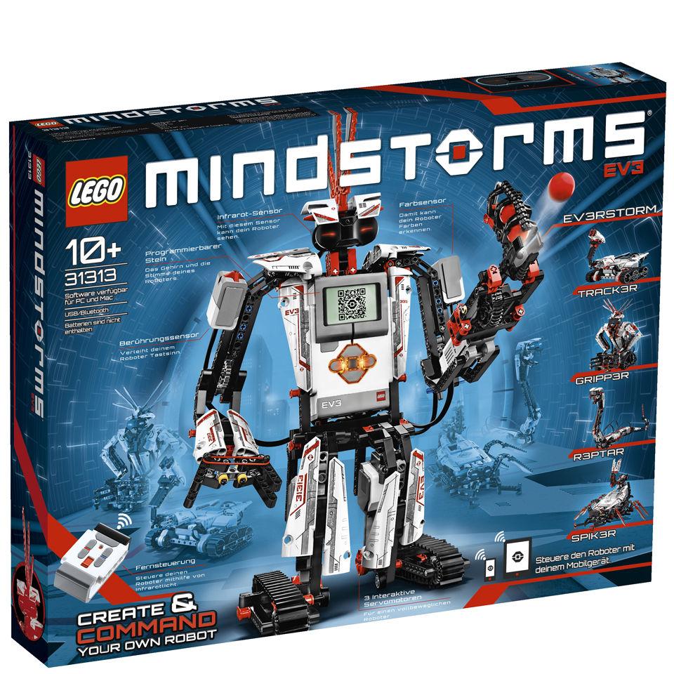 LEGO Mindstorms: EV3 Robot Building Kit (31313) £229.99 Zavvi