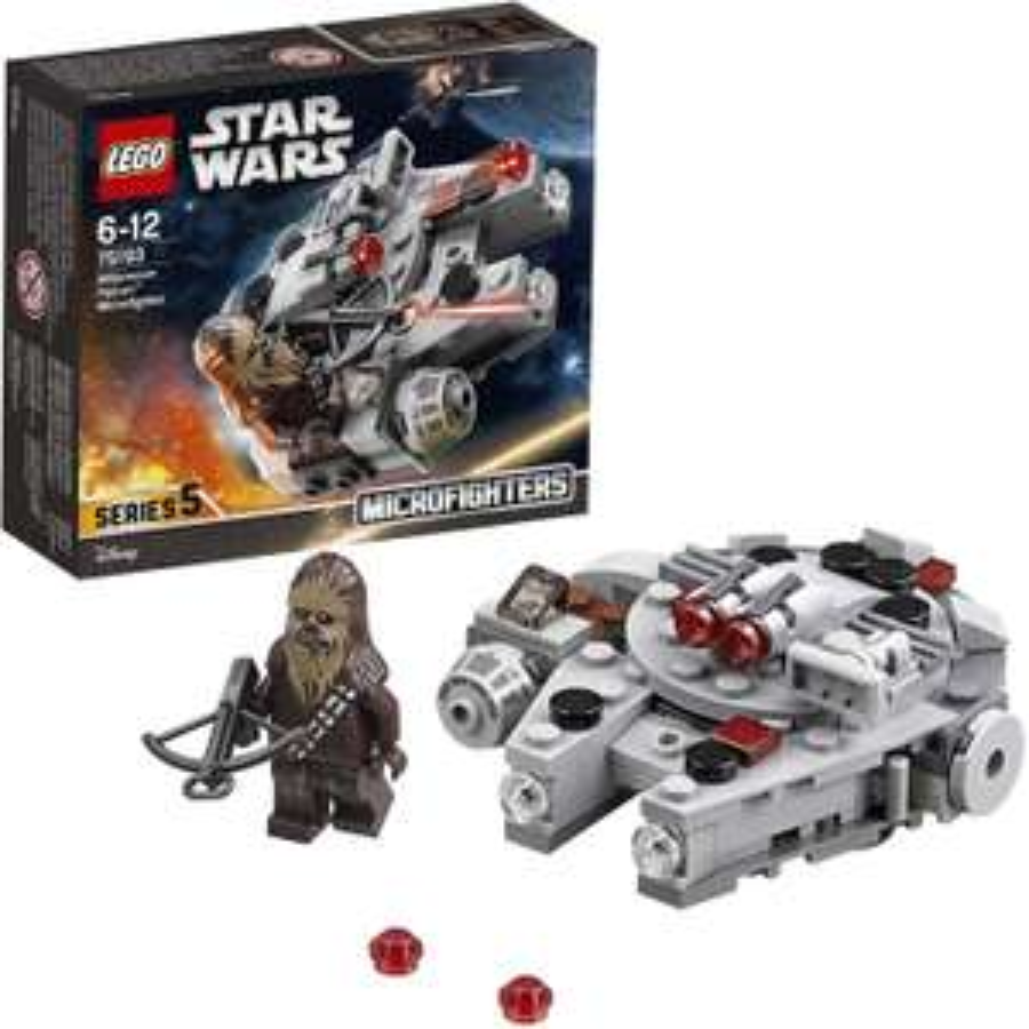 Lego 75193 Star Wars Millennium Falcon Microfighter £8.99 + £4.49 nonPrime Amazon