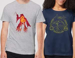 Harry potter t-shirt mens, womens and kids £8.99 iwoot