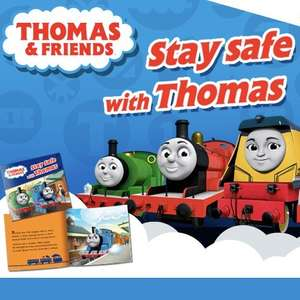 FREE Thomas & Friends book on World Book Day in all UK Smyths Toys Superstores