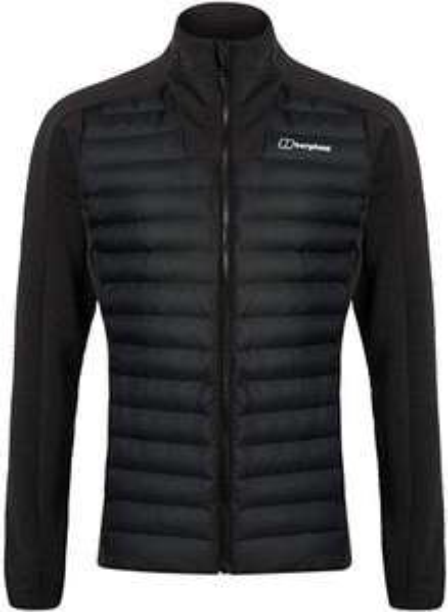 Berghaus Men's Hottar Hybrid Synthetic Insulated Jacket Black (Sizes S - XXL) £72.49 - Amazon