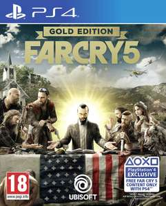 Far Cry 5 Gold Edition (Inc. Far Cry 3 & DLCs) - (PS4) £19.95 Delivered @ The Game Collection