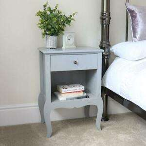Country Style Single Drawer Bedside Table - Buy Two Get 5% Off + 10% Discount Using Code - £47.86 Delivered (£23.93 Each) @ eBay / wido-uk