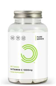 BULK POWDERS Vitamin C 1000 mg Tablets - Pack of 90 Tablets £2.47 prime / £6.96 non prime @ Amazon