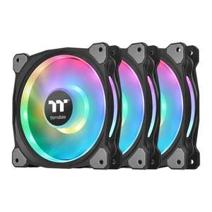 Thermaltake Riing Duo 120mm ARGB Fan 3-Pack with Fan Controller Works with Alexa (2019 Update) £82.78 delivered @ Scan