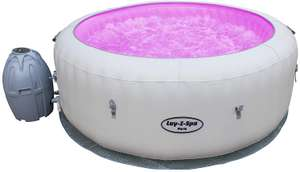 Lay-Z-Spa Paris Hot Tub with LED Lights, AirJet Inflatable Spa, 4-6 Person (USed very good) - £260.40 @ Amazon Warehouse