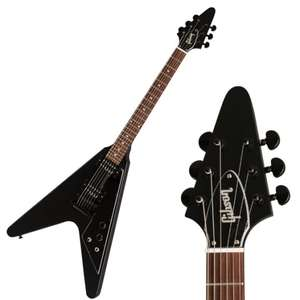 Gibson Flying V Tribute Ebony 2019 Electric Guitar + Gigbag - Approx £639 Delivered @ Thomann