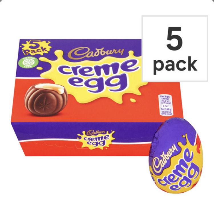 Cadbury Creme Egg 5 X 40G Pack £1.49 @ Aldi instore (Cardiff)