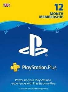 Playstation Plus 12 months subscription £36.69 + £1.34 Payment fee - £38.03 @ Electronic First