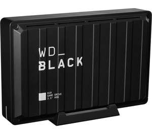 WD_BLACK D10 External Game Drive 8 TB for £159 delivered @ Currys PC World