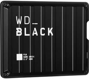 WD _BLACK P10 Game Drive - 2 TB, Black - £64.49 Delivered @ Currys PC World