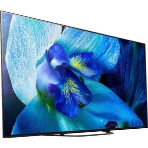 Sony KD-55AG8 Refurbished 4K HDR TV with OLED screen, 4K HDR Processor X1™ Extreme & Acoustic Surface Audio £899 @ Sony Centres Outlet