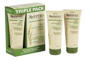 Aveeno Daily Moisturising Lotion 200ml - Pack of 3 for £5.98 @ Costco