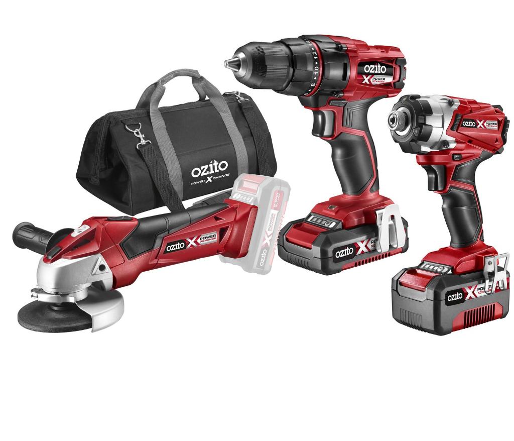 Ozito Power X Change 18V Cordless 3 Piece Kit £135.20 at Homebase