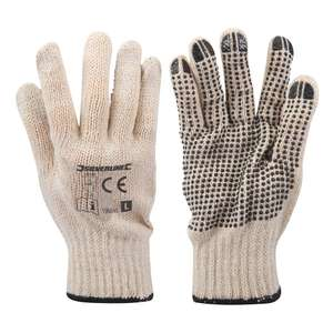 Silverline Single Sided Dot Gloves 90p + £4.49 NP at Amazon