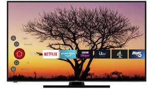 Hitachi 58 Inch Smart 4K UHD LED TV with HDR (2020 model) - £360.99 delivered at Argos/ebay with code