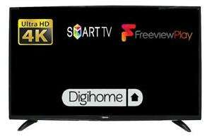 """Refurbished Digihome 50551UHDS 50"""" Smart 4K Ultra HD LED TV Refurb With Freeview Play In Black £227.02 @ Tesco Ebay"""