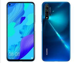"Huawei Nova 5T 128GB 6.26"" LCD Display Smartphone £324.50 / £242.50 With Cashback (Crush Blue Only) @ Amazon"