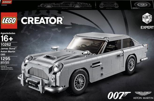 Lego Creator 10262 James Bond Aston Martin DB5 £110.49 John Lewis & Partners