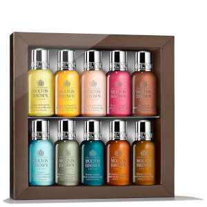 Molton Brown Discovery Bathing Collection (10 x 30ml) £16 With Code @ Look Fantastic