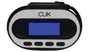 Click In Car FM Transmitter, £1 (Free Collection) @ Argos
