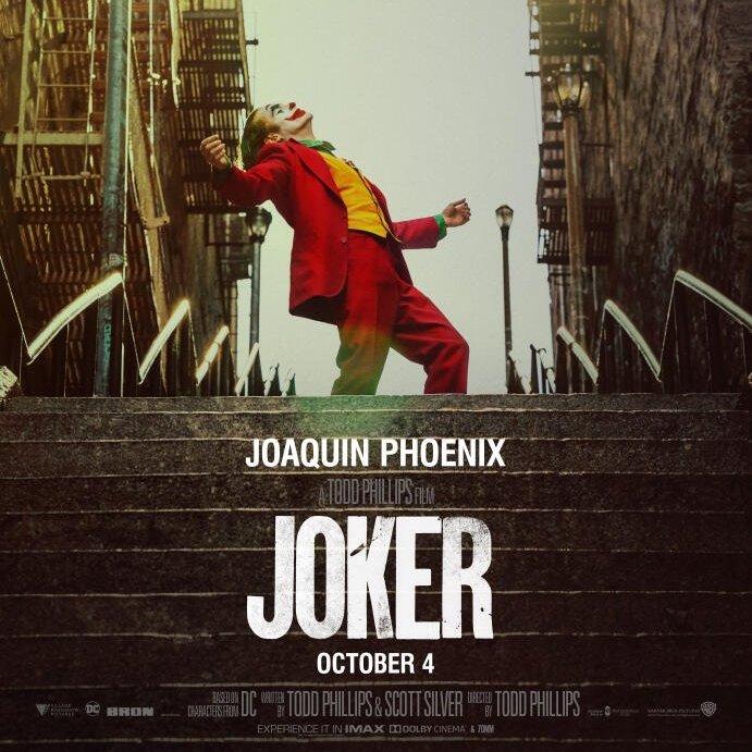 Joker (4k UHD) £2.99 Rental on iTunes