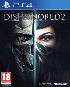 Dishonored 2 (PS4) £4.15 with ps plus @ PlayStation store