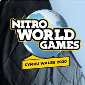BOGOF Nitro World Games 2020 Tickets (23 - 24 May 2020, Cardiff ) from £24.14 @ Groupon