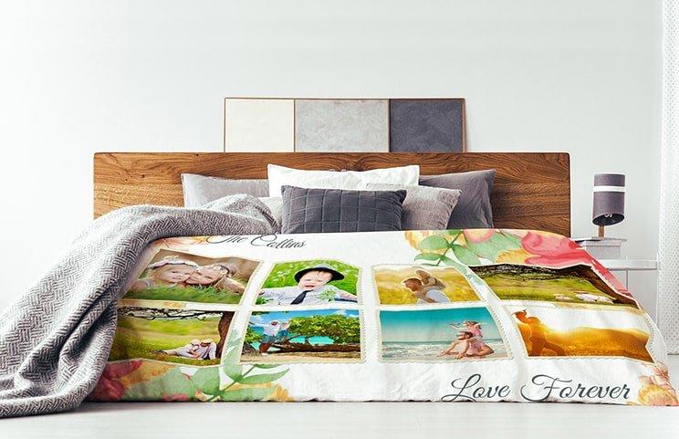 Mink Touch Photo Blanket Medium 102x76 Cm £12.99 / Throw 157x127 Cm £15.99 / Queen 203x152 Cm £25.99 With Code @ Printerpix (Free P&P)