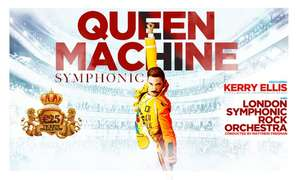 Queen Machine Symphonic featuring Kerry Ellis, 15 - 25 April 2020 (Various Locations) from £10 per ticket (£9.50 using code) @ Groupon