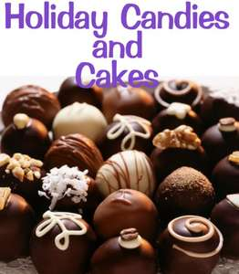 Holiday Candies and Cakes - Kindle Edition now Free @ Amazon