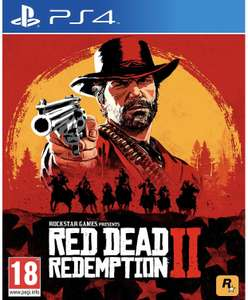 Red dead redemption 2 (PS4) (preowned) £15.72 @ musicmagpie via eBay