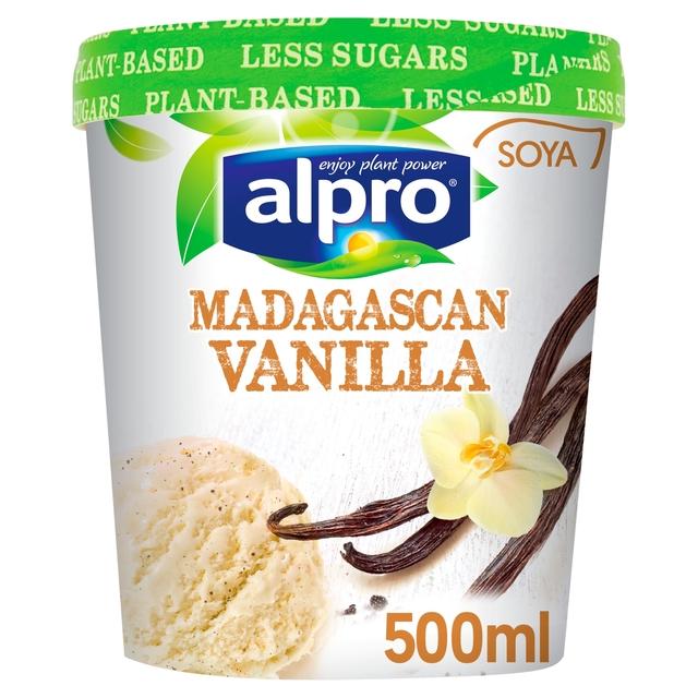 Alpro Soya Vanilla Ice Cream 500ml @ Heron Foods - Kingston Upon Hull - 50p