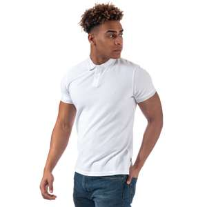 Wrangler SS Pique Polo Shirt in White, Grey or Navy - £6.39 Delivered at Get The Label
