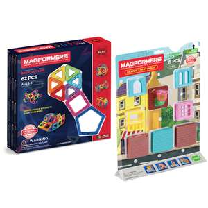 Magformers 62 and House Lamp Bundle £40 at Magformers shipping + £4.99