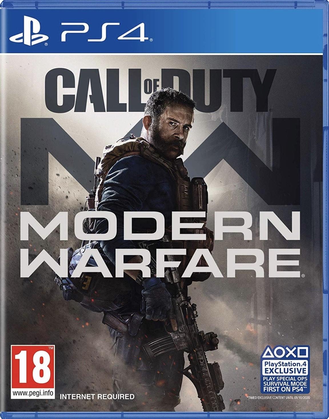 Call of Duty Modern Warfare (PS4) Ex rental £25.99 @ Boomerang via eBay