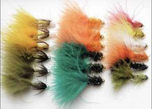 18 Bead head Lures £5 + £1.99 delivery at Troutflies