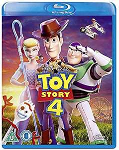Toy Story 4 Blu-ray £10 (+£1.99 non Prime) at Amazon