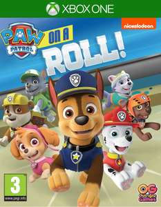 Paw Patrol on a roll Xbox game at Amazon for £16.99 Prime (+£1.99 non Prime)