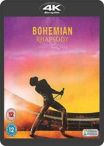 Bohemian Rhapsody 4K UHD Blu-Ray [pre-owned] from Cinemadiso on ebay for £5.65 delivered