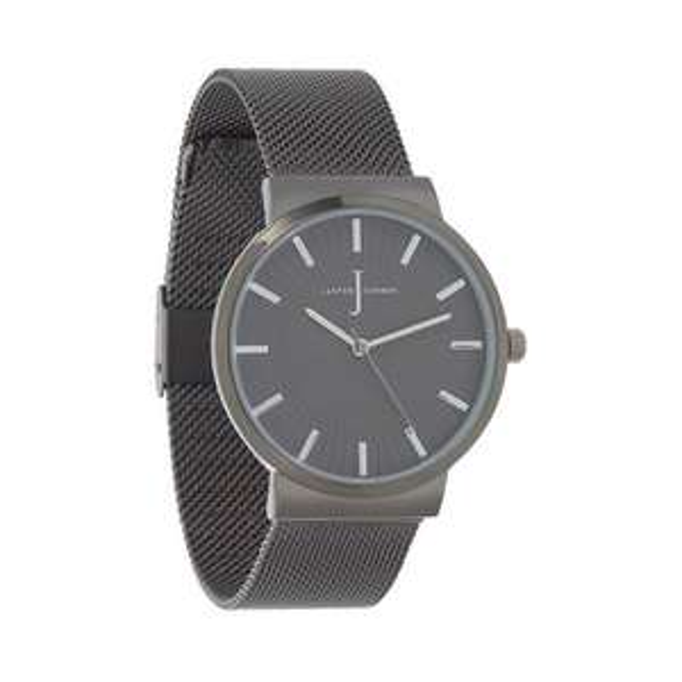 J by Jasper Conran Black Mesh Watch £22.50 (Free Click & Collect) @ Debenhams