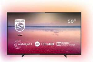 """Philips 50"""" 4K UHD LED Smart TV with Ambilight 3-sided (50PUS6704/12) £325.99 @ BT Shop"""