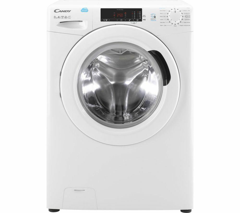 CANDY CVS1492D3 1400rpm, 9kg Smart Touch Washing Machine, White £218.47 @ PowerDirect