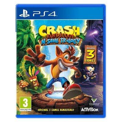 Crash Bandicoot N. Sane Trilogy USED PS4 £9.29@ Music Magpie