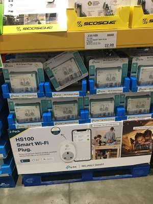 TP Link HS100 smart plug (2 pack) Costco Chigwell in-store only for £27.58