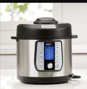 Power Quick Pot - The 8-in-1, one-touch pressure multi-cooker at JML Direct for 39.99