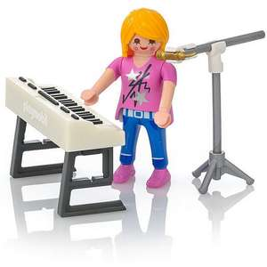 Playmobil Singer with Keyboard at Playmobil Shop for 40p + more on sale ( £3.50 delivery) @ Playmobil