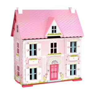 Early Learning Centre Deluxe Rosebud Doll's House with Furniture £64.99 & free delivery @ Early Learning Centre (ELC)
