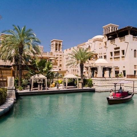 Madinat Jumeirah Dar Al Masyaf, Dubai. 7 nights HB inc flights ( MCR ) June £2478.21 for two @ Emirates Holidays